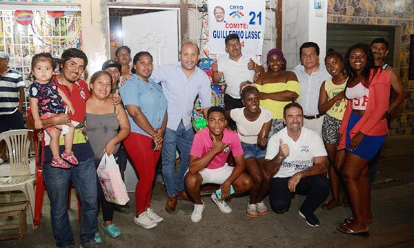 Desde la Febres Cordero en Guayaquil continua la formación de Comités Barriales