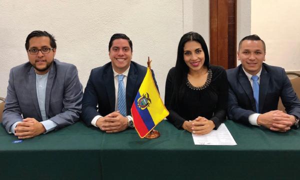 CREO logra la Coordinación Sudamericana de las Juventudes políticas