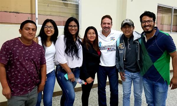 Jóvenes CREO del cantón Santa Elena planifican su trabajo territorial para el 2021