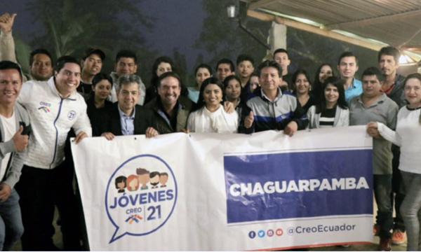 Frente de Jóvenes Chaguarpamba asumen su compromiso frente a las presidenciales del 2021