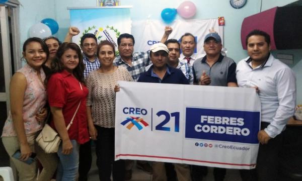 En Guayaquil CREO se fortalece y empodera a su Directiva Territorial de la Febres Cordero