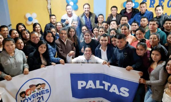 CREO se reúne con Jóvenes en Paltas para planificar año electoral