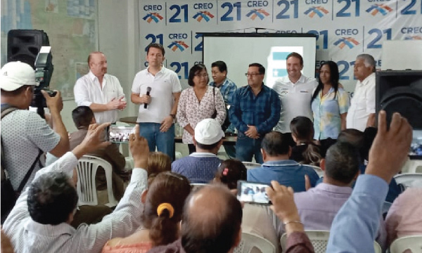 La Directiva Cantonal de Guayaquil se une al esfuerzo nacional de fortalecimiento territorial