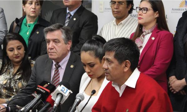 CREO no apoyará un proyecto de Ley que afecte a la familia ecuatoriana