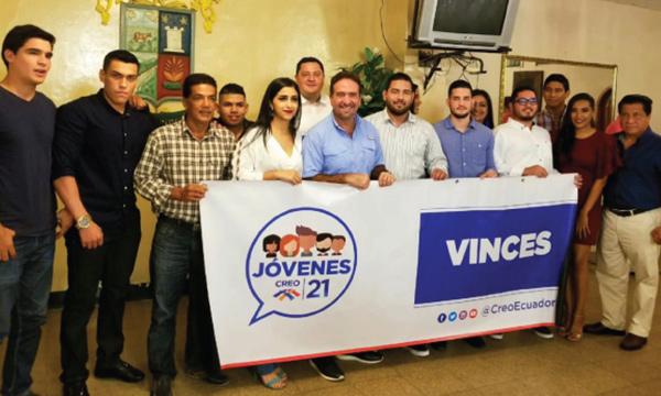 La Familia de CREO Vinces empodera a su nuevo Frente de Jóvenes de CREO