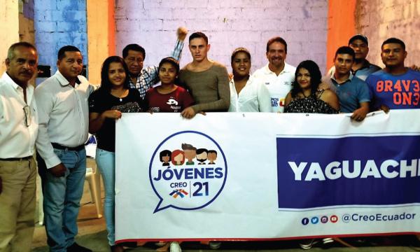 En Yaguachi el Frente de Jóvenes CREO se activa para la elección 2021