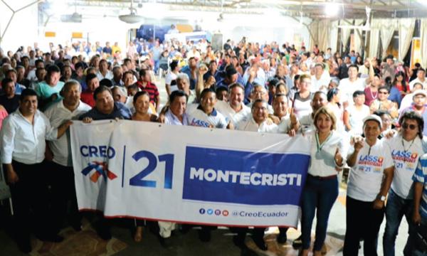 Montecristi empodera a su nueva Directiva Cantonal con miras a la victoria del 2021