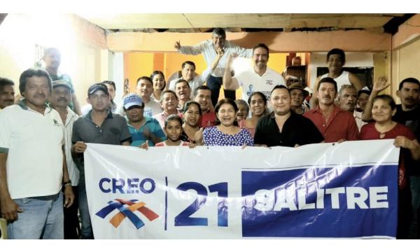 Desde Salitre CREO fortalece y posesiona a su nueva Directiva Cantonal