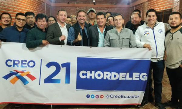 Desde Chordeleg CREO fortalece y posesiona a su nueva Directiva Cantonal