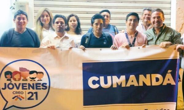 Jóvenes CREO Cumandá aceleran su trabajo territorial desde Chimborazo