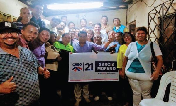 En la Parroquia García Moreno CREO fortalece y posesiona a su nueva directiva