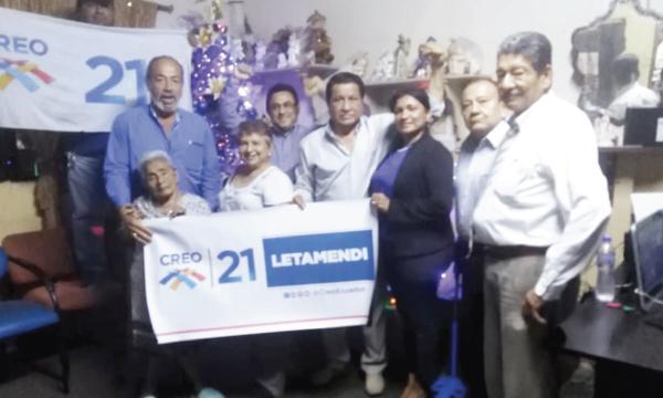 En la Letamendi de Guayaquil CREO posesiona a su nueva Directiva Territorial para el 2021
