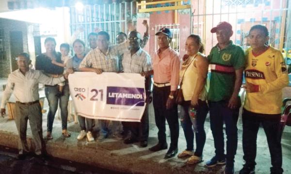 La Zona Letamendi en Guayaquil cuenta con su segunda Directiva Territorial para el 2021