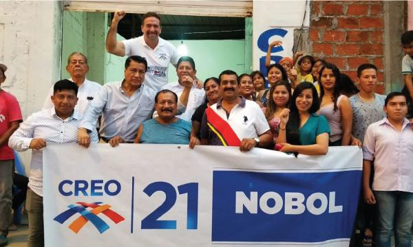 CREO cierra su semana de trabajo desde el cantón Nobol de Guayas