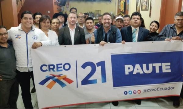 Desde Paute CREO fortalecer y posesiona a su nueva Directiva Cantonal