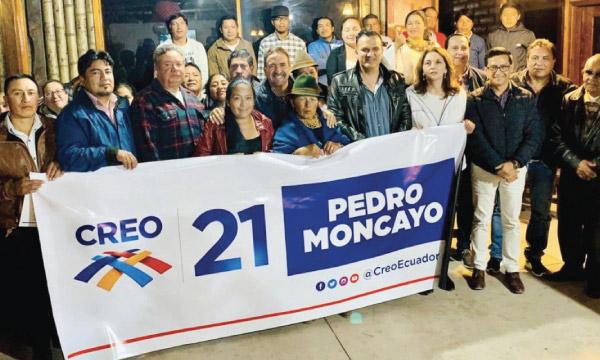 Desde Pedro Moncayo CREO se fortalece y posesiona a su nueva Directiva Cantonal