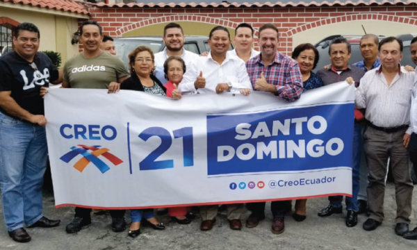 Desde Santo Domingo CREO de fortalecer y se prepara para el 2021