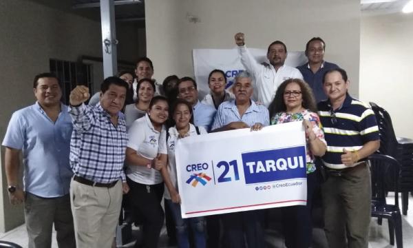 En la Tarqui CREO se fortalece y posesiona a su nueva Directiva Territorial