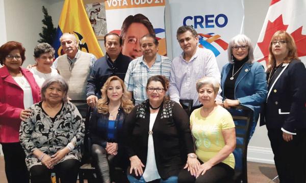 CREO continúa su fortalecimiento posesionando a la nueva directiva territorial de Canadá