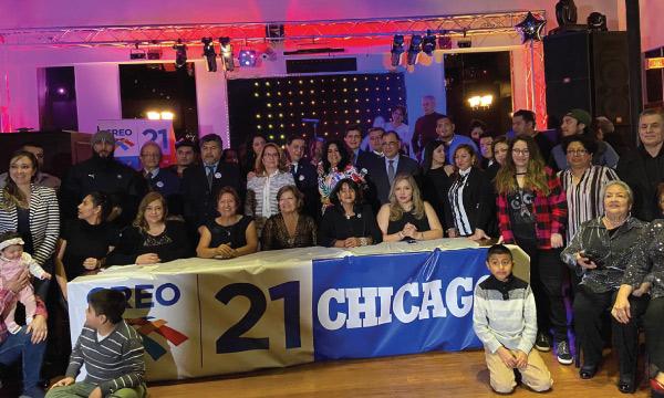 CREO EE.UU. continúa su trabajo y posesiona a su nueva directiva territorial de Chicago