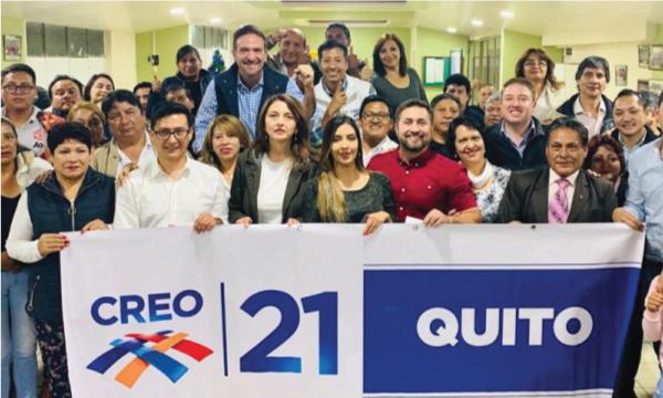 CREO Quito continúa su fortalecimiento y arma su estructura territorial en Conocoto