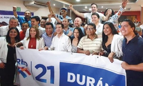 Desde Durán continúa el proceso de fortalecimiento cantonal de Guayas para el 2021