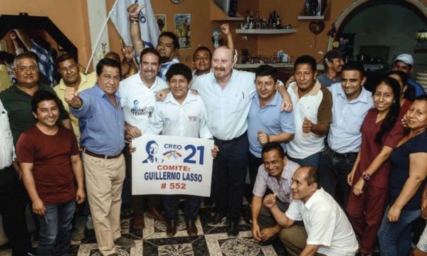 En la Cooperativa Flor de Bastión de Guayaquil CREO fortalece su estructura parroquial de Pascuales
