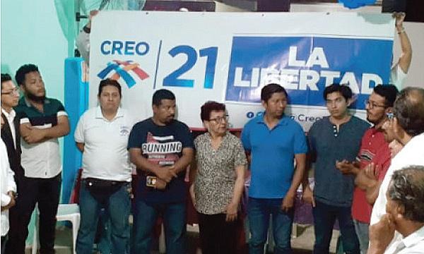 CREO Santa Elena se fortalece y posesiona a su Directiva del Frente de Profesionales La Libertad