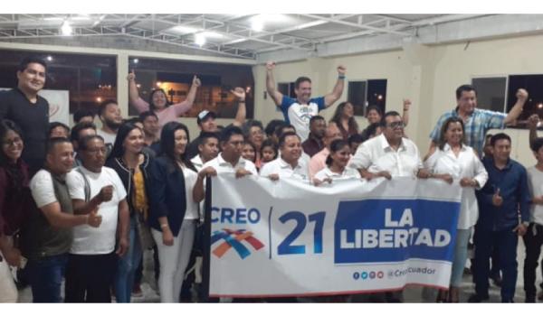 CREO Santa Elena fortalece su estructura y empodera a la nueva dirigencia de La Libertad