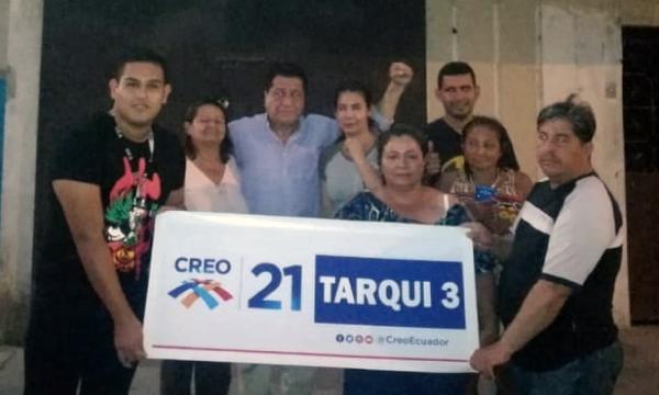 Desde Mapasingue en Guayaquil CREO posesiona su nueva Directiva Territorial para el 2021