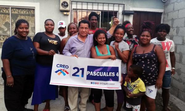 En Pascuales CREO extiende sus directivas territoriales y fortalece su estructura Lasso 2021