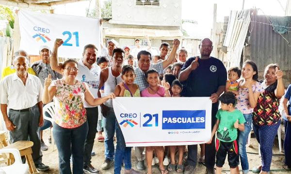 Desde Pascuales CREO continua hoy la posesión de sus Directivas Parroquiales en Guayaquil