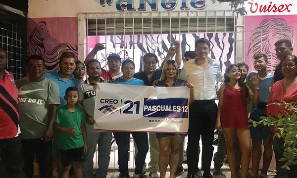 CREO posesiona nueva directiva territorial  en Pascuales