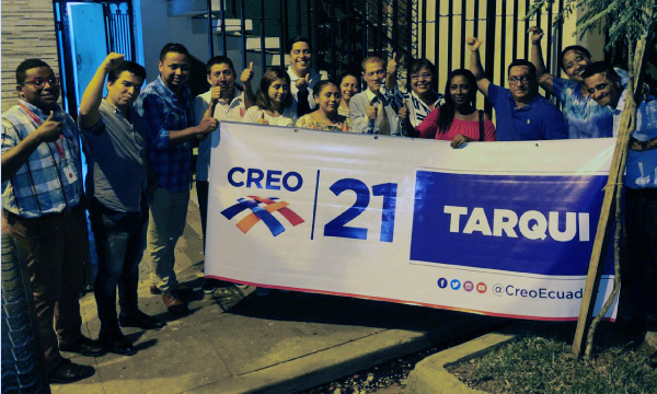 En Guayaquil CREO se fortalece con la Directiva Territorial en la parroquia Tarqui