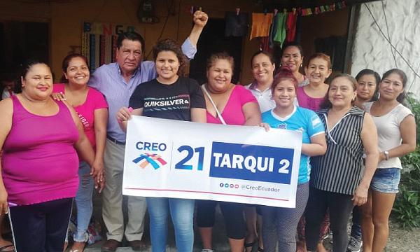 CREO posesiona a su segunda directiva en la Parroquia Tarqui y continúa su proceso de crecimiento