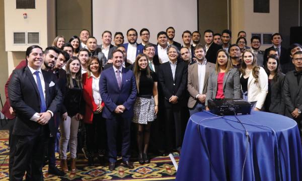 Jóvenes CREO participa de intercambio político académico con organizaciones de Colombia