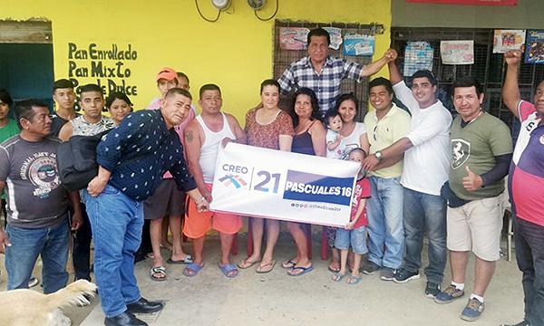 En Balerio Estacio CREO Guayaquil fortalece su trabajo territorial y multiplica sus dirigentes