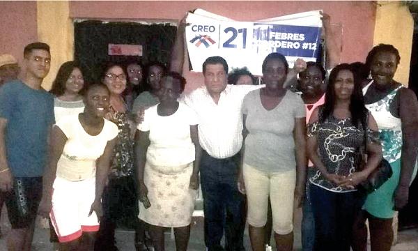 En la parroquia Febres Cordero, en Guayaquil, CREO suma una nueva directiva territorial