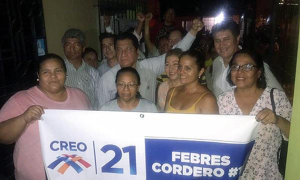 En Febres Cordero CREO Guayaquil fortalece su trabajo territorial y multiplica sus dirigentes
