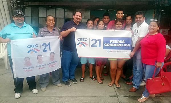 Febres Cordero, en Guayaquil, cuenta con su nueva Directiva Territorial para el 2021