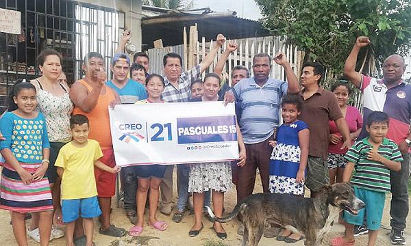 Desde Guayaquil continúa el proceso de posesión de directivas territoriales de CREO