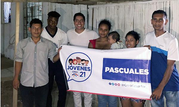 Jóvenes CREO se fortalece y posesiona a su nueva directiva territorial en Guayaquil