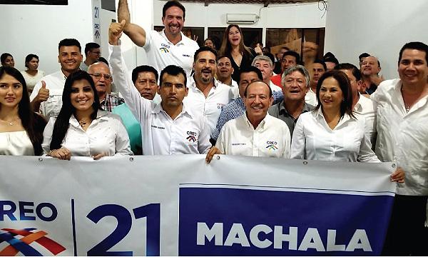 CREO El Oro se fortalece y posesiona a su nueva Directiva de Machala para el 2021