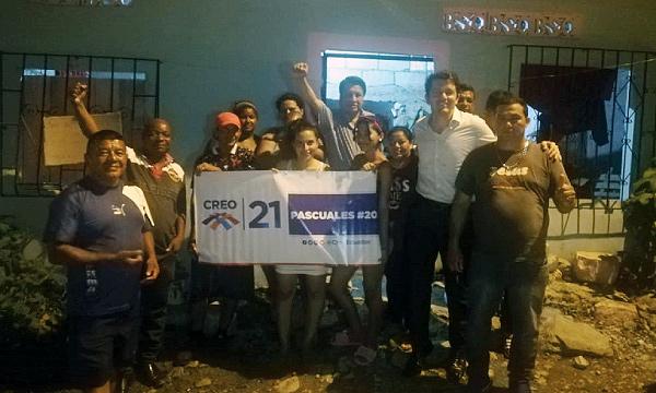 En Trinidad de Dios CREO Guayaquil fortalece su trabajo territorial y multiplica sus dirigentes