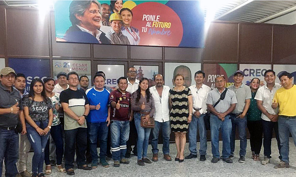 CREO Santa Elena fortalece su Frente de Profesionales camino al 2021