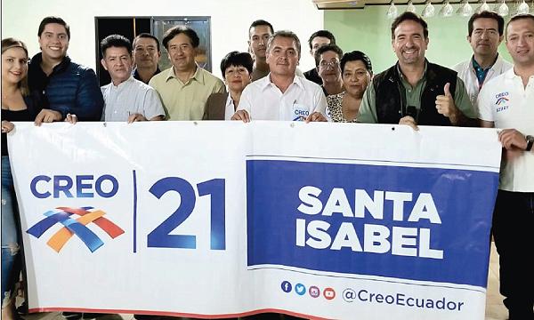 Santa Isabel se suma al esfuerzo nacional de CREO y consolida el trabajo en Azuay