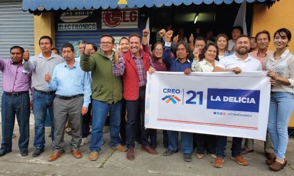 CREO sigue su camino de fortalecimiento territorial armando equipo desde el Norte de Quito