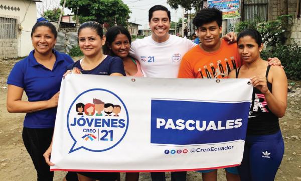 Jóvenes CREO se fortalece y posesiona directiva territorial en Pascuales, Guayaquil