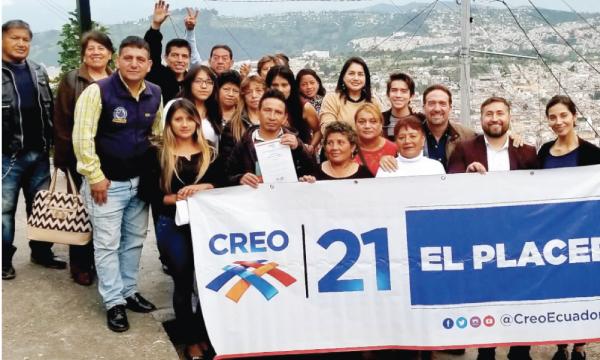 CREO Quito fortalece su estructura y posesiona a su Directivas en El Placer