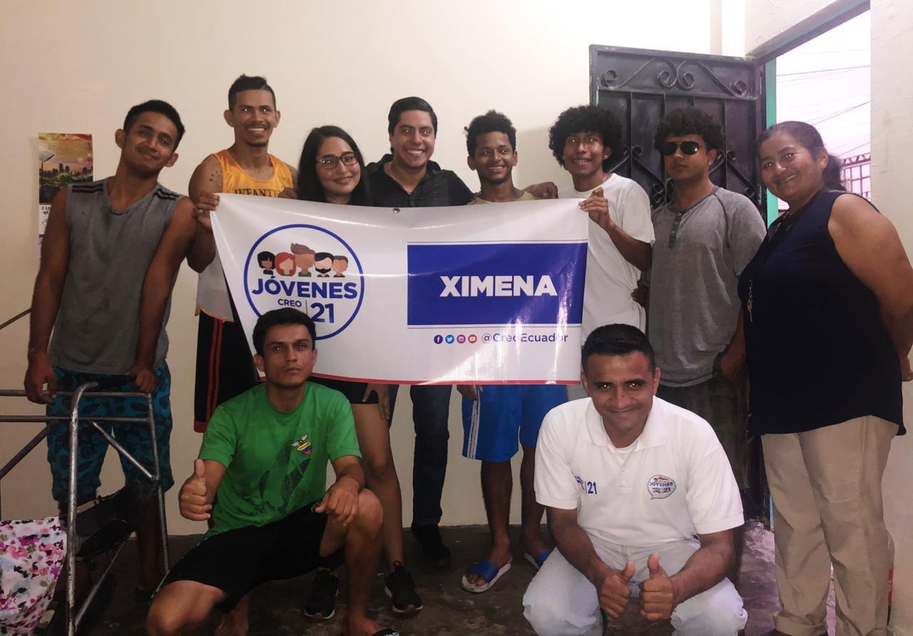 Jóvenes CREO se fortalece y posesiona a su nueva directiva territorial en Ximena, Guayaquil